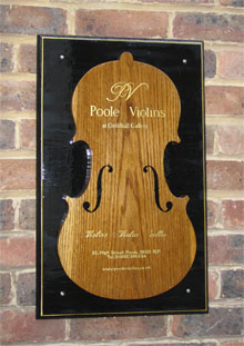 Violin repairer & maker, Poole